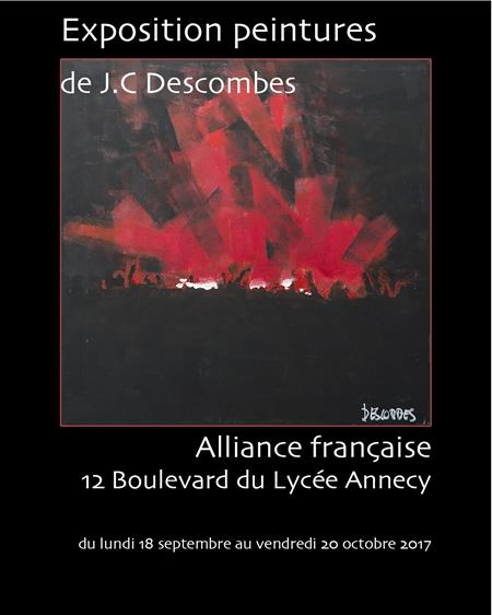 "Exposition""Voyages..."" JC DESCOMBES"