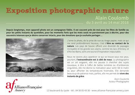 Exposition photos Alain COULOMB