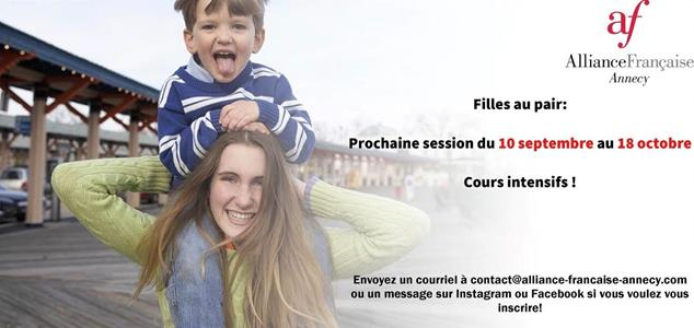 September Au pair session