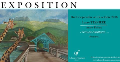 Exposition Laure TESNIERE